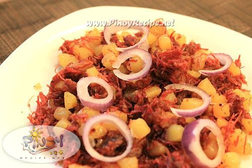 ginisang corned beef recipe