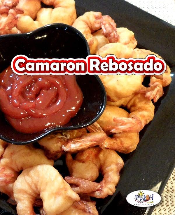 Camaron Rebosado - for Pinterest