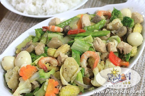 Chopsuey by Filipino Recipes Portal