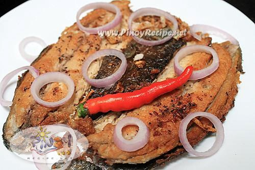 fried milkfish recipe