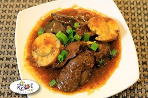 Chicken Liver Steak