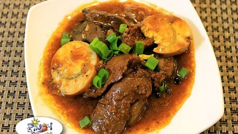 Chicken Liver Steak