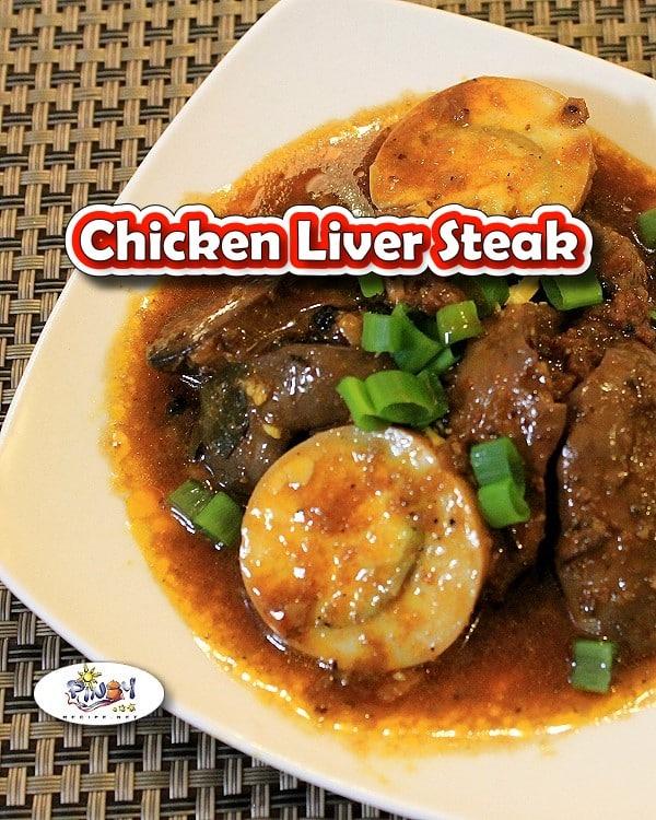 Chicken Liver Steak - Pinterest