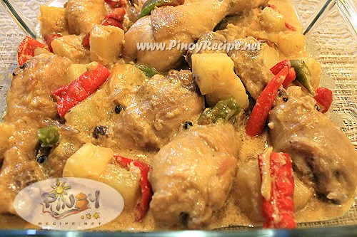 pininyahang manok pinoy recipe
