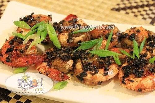 Black Pepper Shrimps recipe