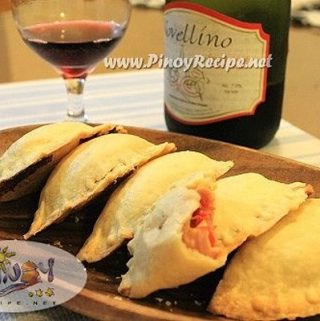 Ham and Cheese Empanada