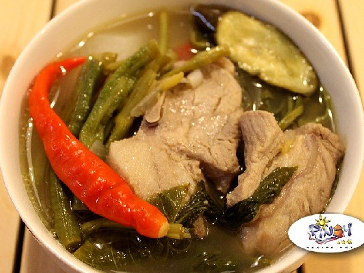 Sinigang Na Baboy Recipe Pinoy Recipe At Iba Pa