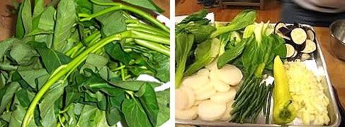 sinigang na baboy recipe vegies
