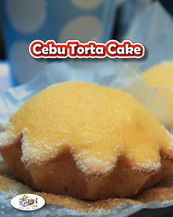Cebu Torta Cake Recipe is a popular bake product in Visayas and in Cebu province. It is also known as Torta Mamon Cebuano.