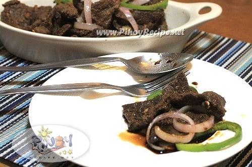 bistek tagalog or pinoy beef steak recipe