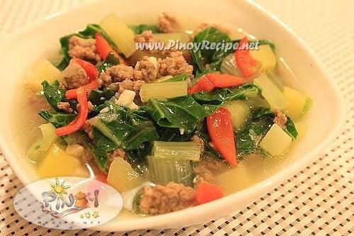 ginisang pechay recipe