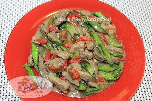 sigarilyas bicol express recipe