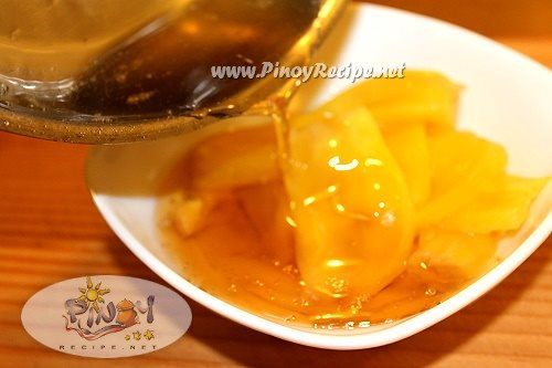 minatamis na langka or sweetened jackfruit recipe