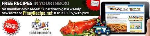 Subscribe to Filipino Recipes Portal