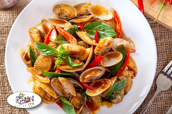 Stir Fried Chili Clams Recipe
