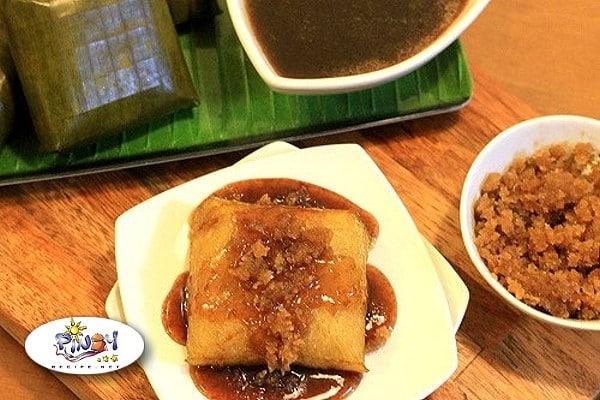Suman sa Lihiya Filipino Recipe