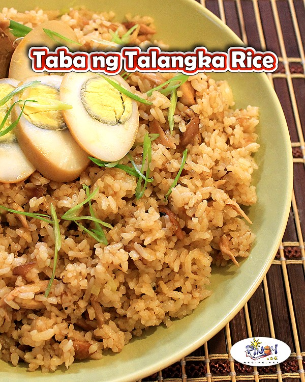 Taba ng Talangka Rice Recipe is a Filipino dish that is bursting with the flavors of the crabs.