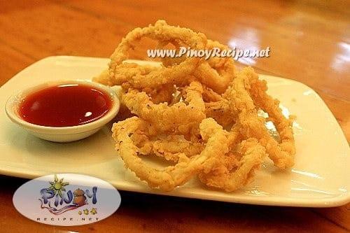 squid rings recipe