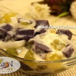 Ube Macapuno Salad Recipe