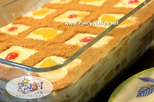 Fruit Cocktail Cake With Condensed Milk