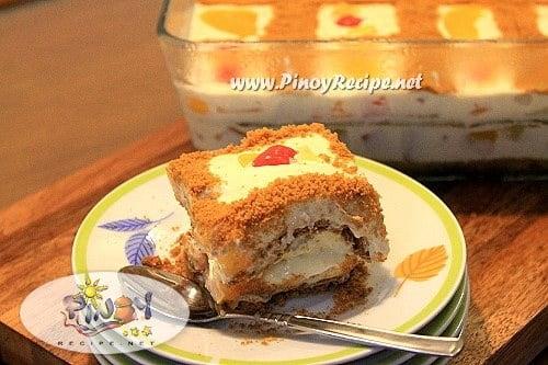 Fruit Cocktail Ice Box Cake
