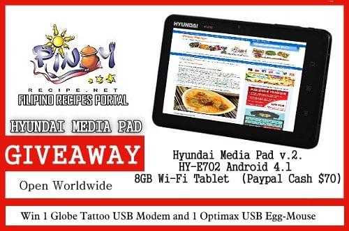 hyundai media pad giveaway