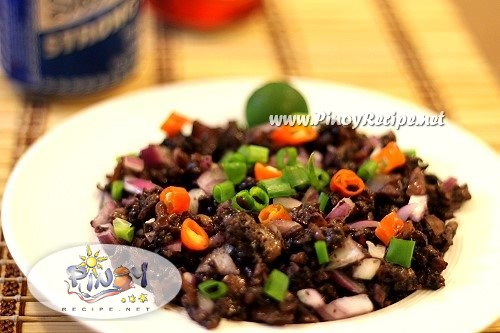 squid sisig