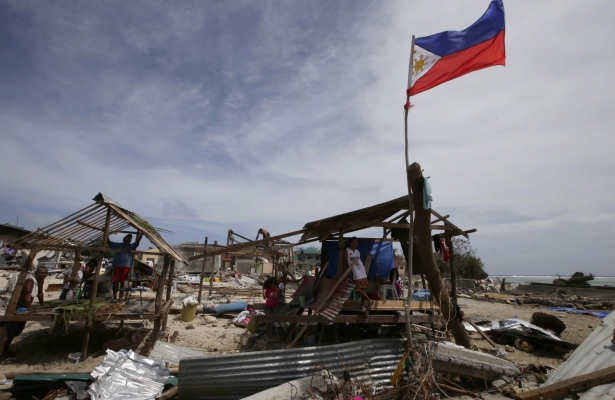 Typhoon yolanda Survivors
