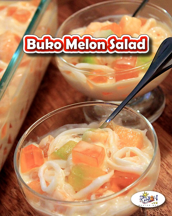 Buko Melon Salad Recipe