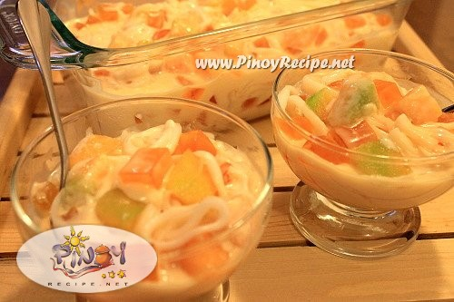 buko melon salad recipe