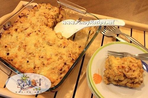 filipino baked macaroni and cheese recipe