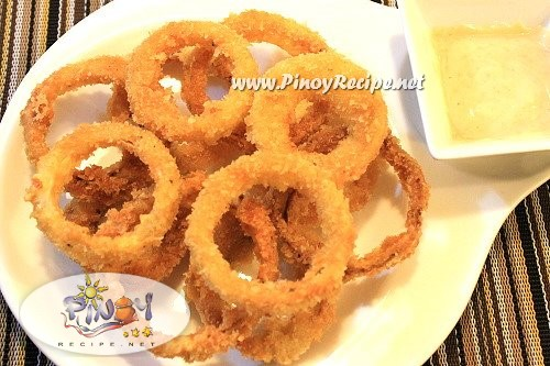 onion rings recipe