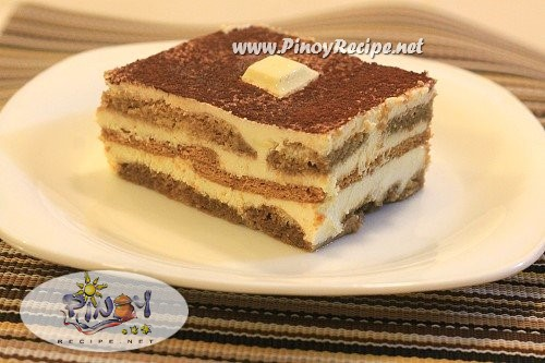 Tiramisu Filipino Style Recipe