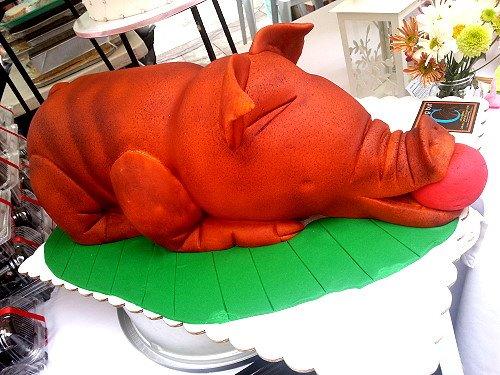 lechon cake