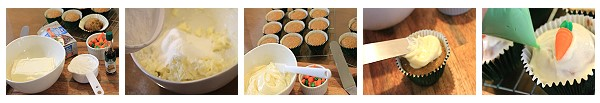carrot cupcake recipe preparation