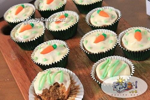 carrot cupcake recipe