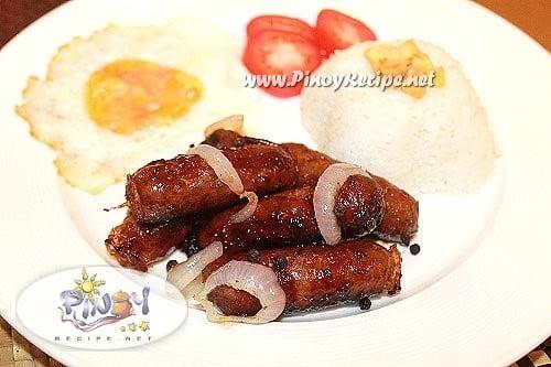 lucban longganisa recipe