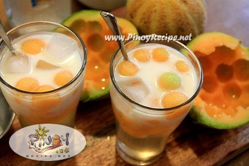 Milky Melon Coolers Recipe