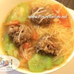 Misua at Patola Soup Recipe