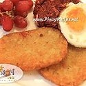 Pinoy Hash Browns Recipe