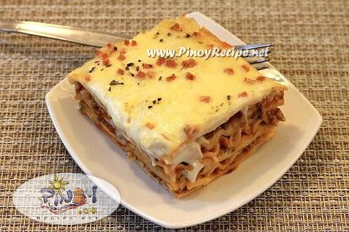 filipino lasagna recipe