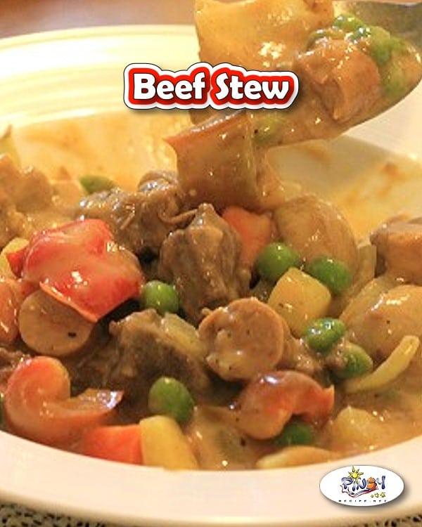 Filipino style Beef Stew Recipe