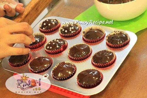 Kalabasa Chocolate Cupcake Recipe