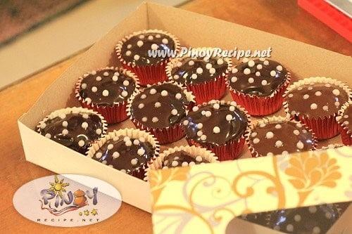 Kalabasa Chocolate Cupcake