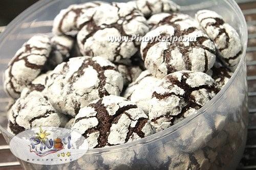 choco crinkles recipe