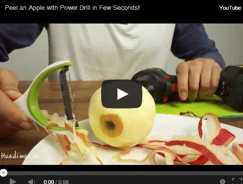 apple fast peeling
