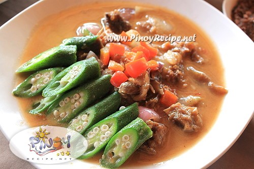 binagoongang baboy with gata recipe