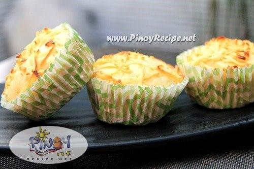 Filipino cheese cupcakes recipe