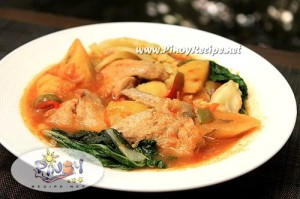 chicken pochero recipe