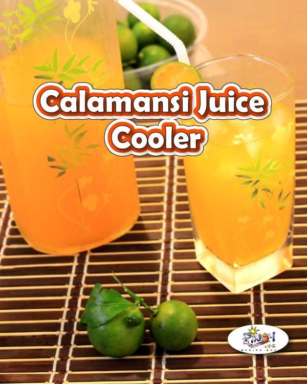Calamansi Juice Cooler Recipe